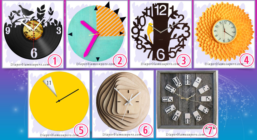 Elige un reloj para revelar tu futuro