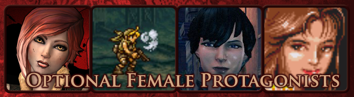 Optional Female Protagonists