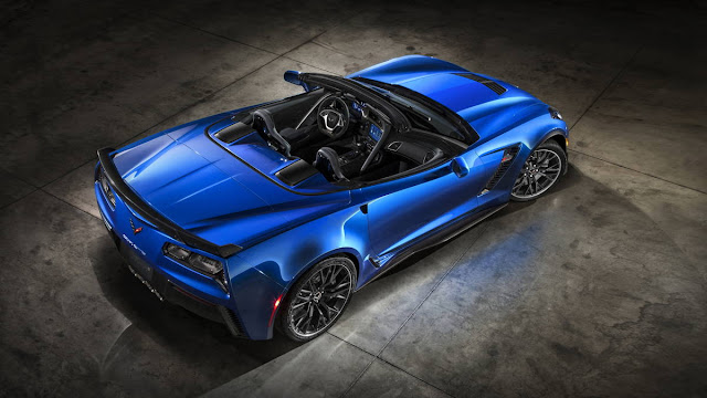 2016 New Chevrolet Edition Corvette Z06 more power top back view