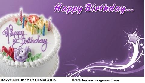 hemalatha birthday images