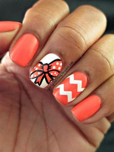 Top 99+ Orange Nail art ideas
