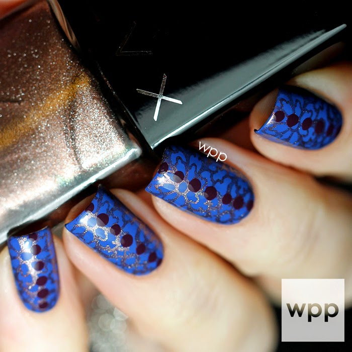 LVX Winter Resort 2014 Collection Stamping Nail Art