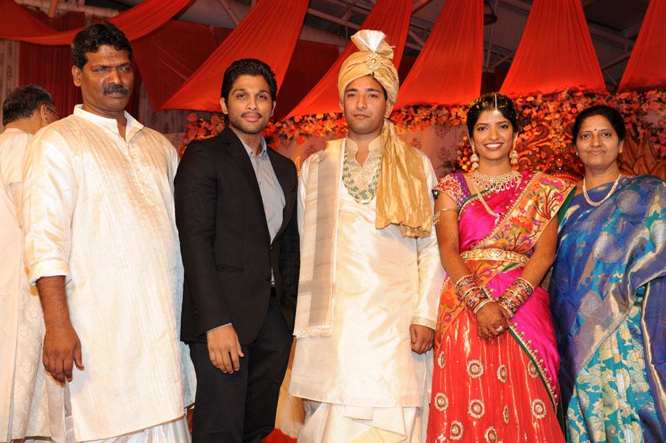 blog11: Tollywood Celebrities At Shyam Prasad Reddy Daughter