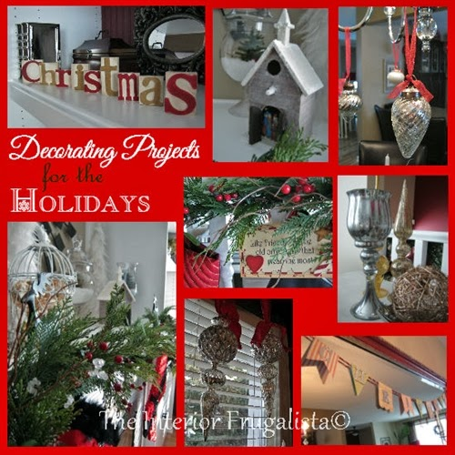 Decorating projects for the holidays