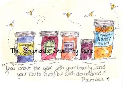 Psalm 65:11 by Diane Coe