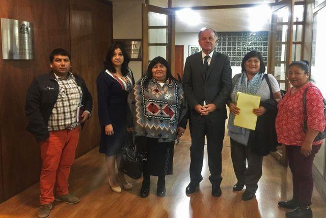 Ministro de Agricultura compromete visitar Comunidades Indígenas de Osorno