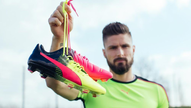 purchase cheap 183e2 75c7a Set to be worn by the likes of Gianluigi Buffon, Cesc Fàbregas and Olivier  Giroud at the Euro 2016, the Puma evoPOWER 2016 cleats were unveiled on  April 20, ...