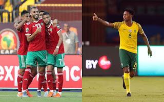 مباشر مشاهدة مباراة المغرب وجنوب أفريقيا بث مباشر 1-7-2019 كاس الامم الافريقية يوتيوب بدون تقطيع