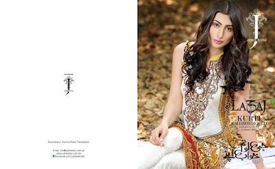 Jubilee Textiles pakistani lawn suits with chiffon dupatta