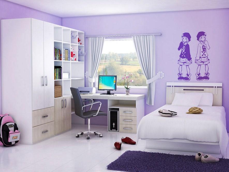Warna Dekorasi Kamar Tidur Anak Perempuan