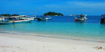 Akses / Lokasi pulau Lengkuas Belitung