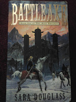 Book cover of Battleaxe by Sara Douglass