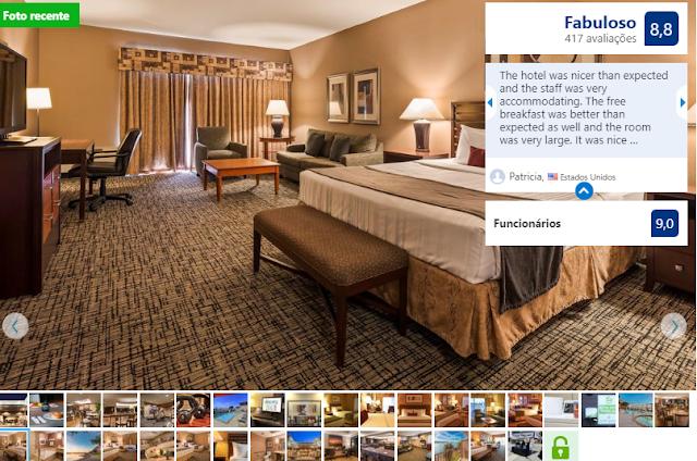 Best Western Plus Bayside Hotel para ficar em Oakland