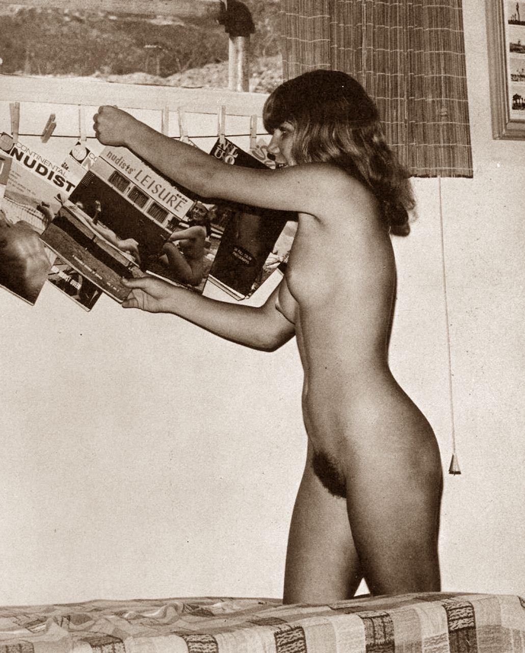 Agree, very vintage russian nudist magazines