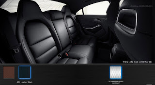 Nội thất Mercedes CLA 250 2016 màu Đen 801