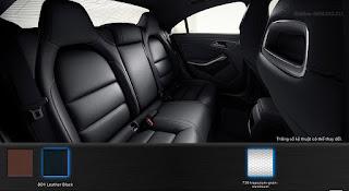Nội thất Mercedes CLA 250 4MATIC 2018 màu Đen 801
