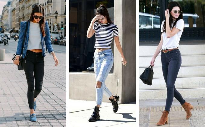 Calça Skinny Kendall Jenner