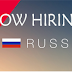 Wanted for Russia - Urgent Recruitment for Indian Candidates