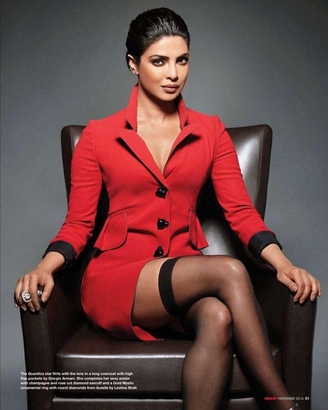 Model Priyanka Chopra Hello India Cover Page Gallery