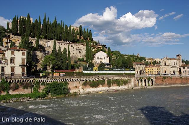 Vista del Rio Adige Verona