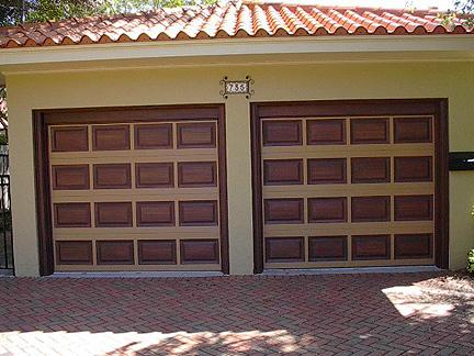 Garage Door Tutorial   Everything I Create - Paint Garage ... on Garage Door Paint Ideas  id=43729