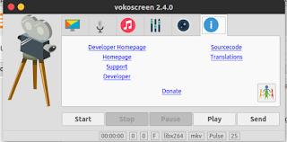 Install Vokoscreen untuk Rekam Webcam dan Dekstop di Ubuntu