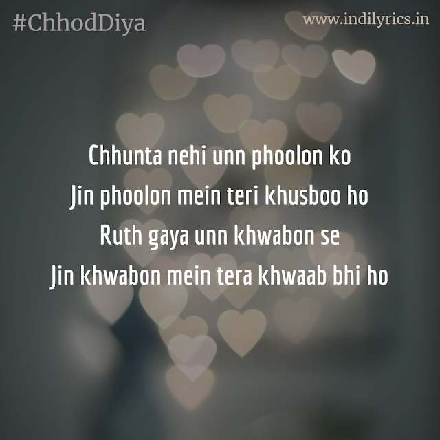 Chhod Diya | Arijit Singh | Baazaar | Complete Song Lyrics with English Translation and Real Meaning