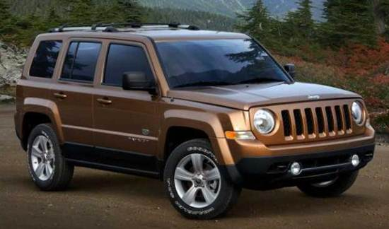 2017 Jeep Patriot Replacement