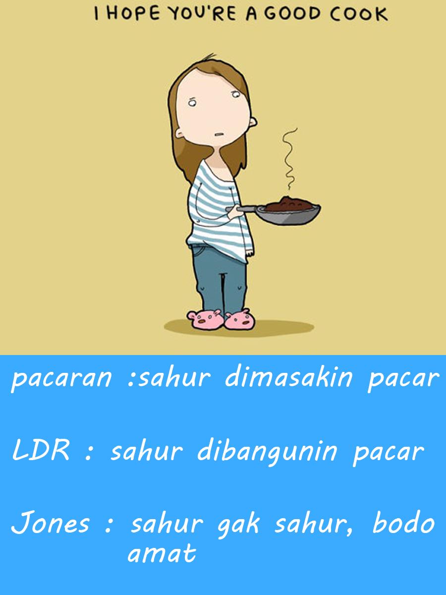 Meme lucu terbaru ramadhan makan sahur nggak pake ikan