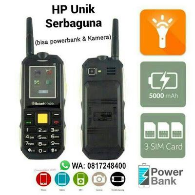 hp unik serbaguna , jual hp murah , hp powerbank , hp multifungsi , accesoris hp murah, jual aksesoris HP, hp brandcode