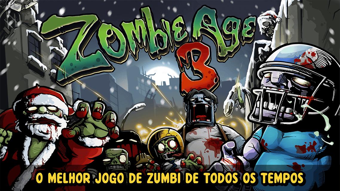 Zombie Age 3 v 1.6.8 apk mod DINHEIRO / MUNIÇÃO INFINITA
