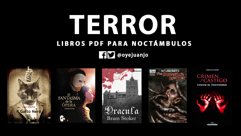 Cinco libros de terror en pdf para noct mbulos oye juanjo Libros de ceramica pdf