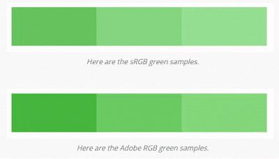 SRGB vs RGB