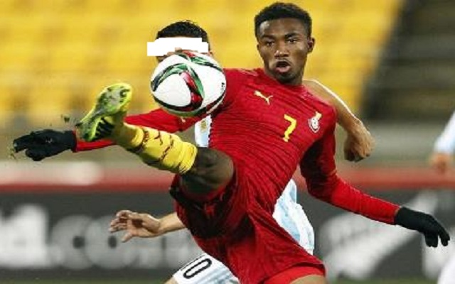 Samuel Tetteh's debut goal against Rwanda vs Ghana [Video]