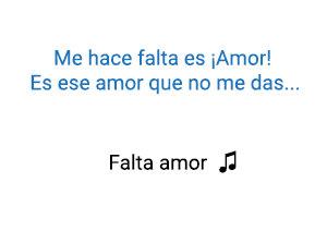 Sebastián Yatra Falta Amor significado de la canción.
