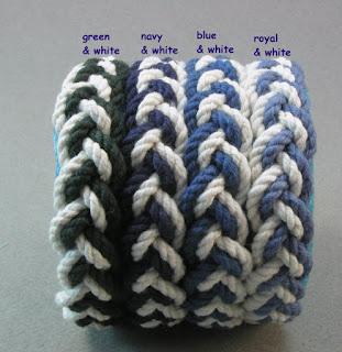 #ropebracelet #handmade #turkshead #knot #bluebracelet #knotbracelet