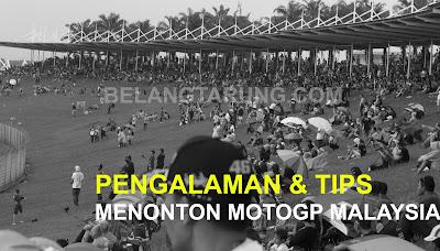 Tips Pengalaman MotoGP Sepang