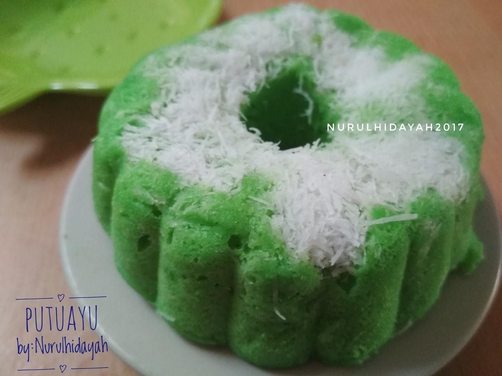 Kue Putu Ayu Fatmah Bahalwan Nurul Hidayah