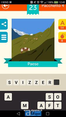 Iconica Italia Pop Logo Quiz soluzione pacchetto 4 livelli 23-75