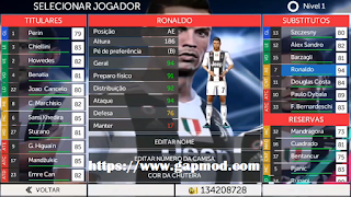 Download FTS Mod FIFA 19 Updated CR7 in Juve by Sixx Games