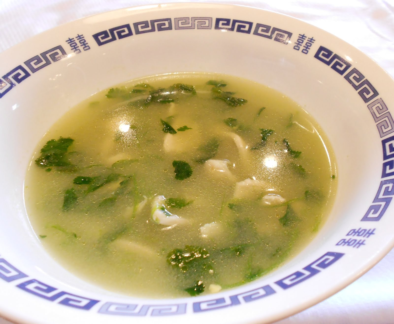 Delicious healing soup which is fantastic for sore throats and