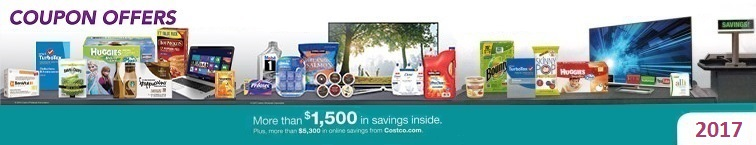 Download the Current January 2017 Costco Coupon Book for deals and extra savings