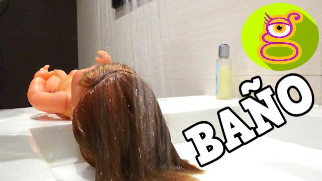 La Bebé Nenuco Pompitas hace caca popo y se da un baño - Capítulo #1