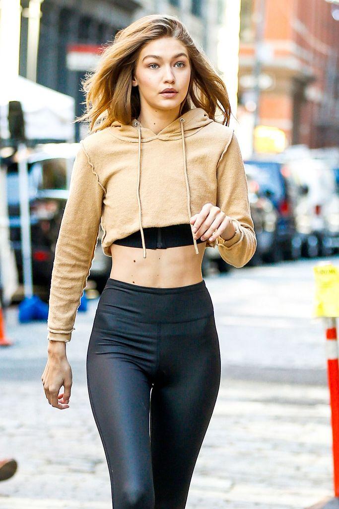 Gigi Hadid Street Style in New York