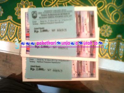 foto tiket kapal jepara karimunjawa express