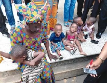 See the 60-year-old British-Nigerian Arrested for Buying 5 babies for N5m (Photo)