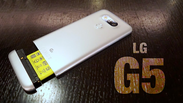 مراجعة الهاتف الذكي LG G5