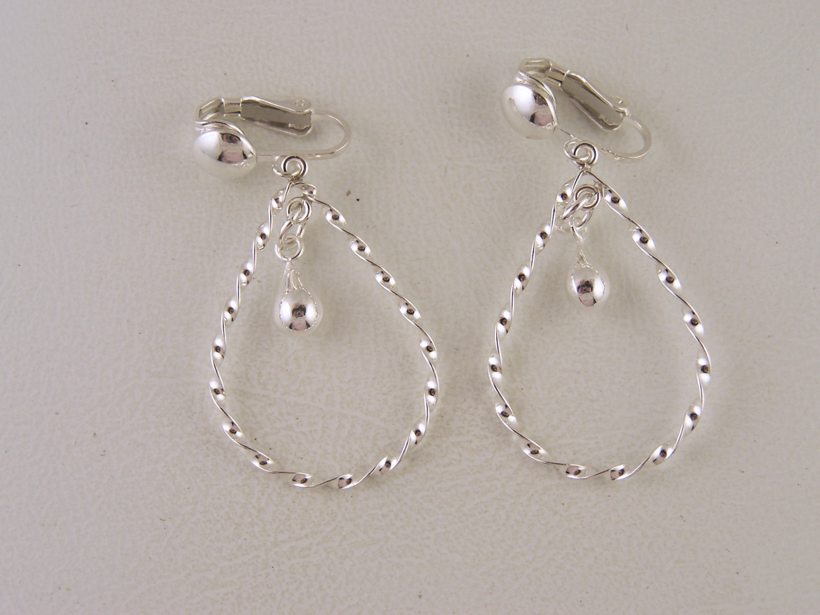 The Clip On Earring Store Stylist: Sterling Silver Clip On ...