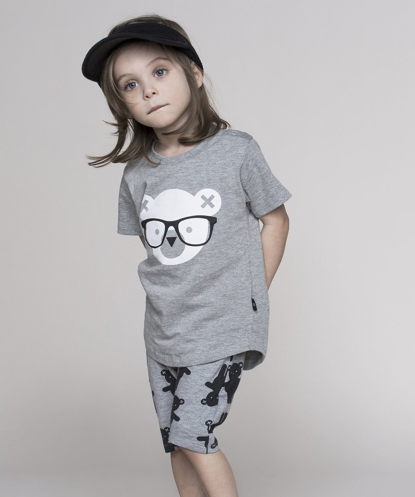 Huxbaby - monochrome kids fashion SS16/17 - grey boys' look