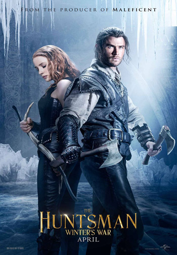 The Huntsman Winters War 2016 Dual Audio Hindi BluRay 720p 1GB DD5.1Ch ESubs